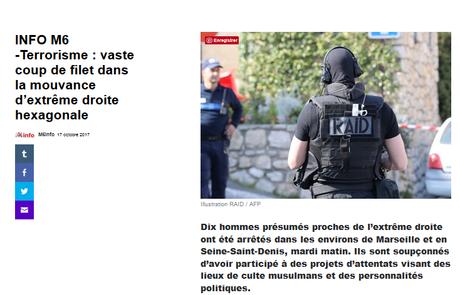 #Terrorisme d'extrême-droite : le réseau d'un « ex »  #ActionFrançaise démantelé #antifa