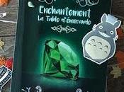 Enchantement: table d'émeraude Evelyne Contant