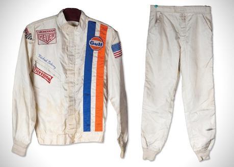 La combinaison portée par Steve McQueen dans «Le Mans» est aux enchères