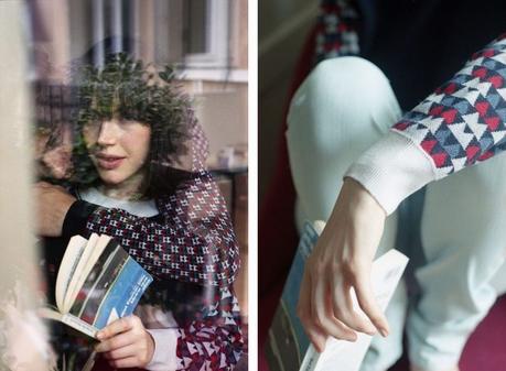 Montagut x Elise Chalmin : une capsule au graphisme tricoté