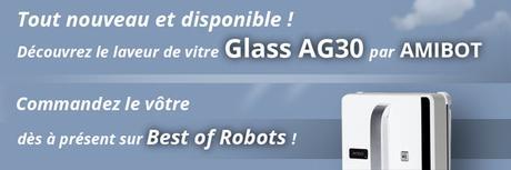 Présentation de AMIBOT Glass AG30 : le premier robot lave vitre AMIBOT