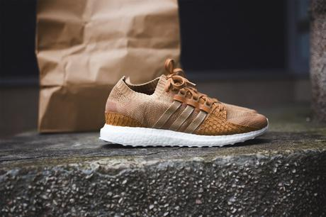 "Pusha T x adidas EQT Support King Push ""Fishscale"" Brown"