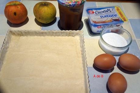 Cheesecake pomme et caramel beurre salé comme à New- York