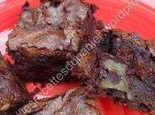 Brownies betterave, noix chocolat Beetroot, Chocolate