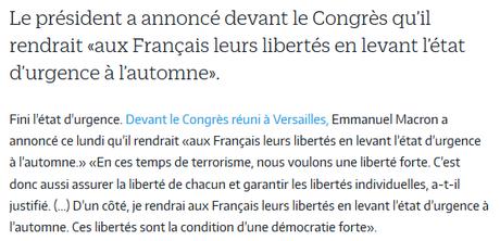 Aujourd'hui, on enterre l'illusion démocratique. (Merci #LREM)
