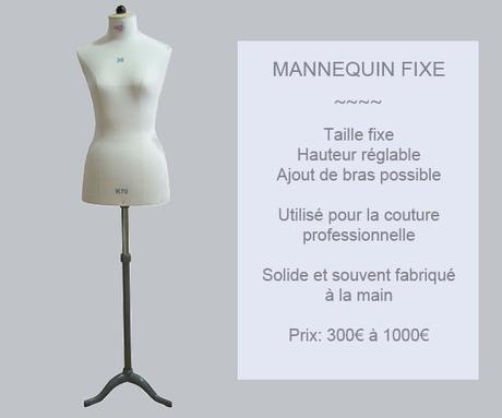 Acheter un mannequin de couturière