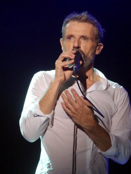 Lambert Wilson chante Yves Montand à La Madeleine, Bruxelles, le 17 octobre 2017.