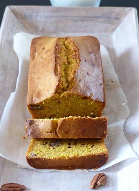 Pumkin and banana bread : le cake moelleux au potiron
