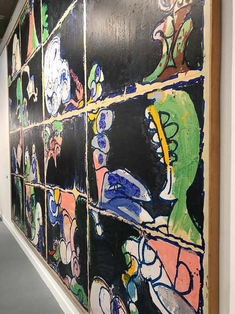 fiac, 2017, grand palais, art fair, paris, contemporary art, Pierre Alechinsky, galerie Lelong