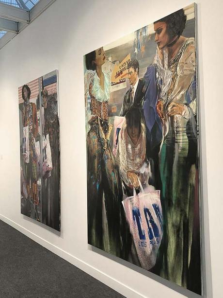 fiac, 2017, grand palais, art fair, paris, contemporary art, Paulina Olowska, Metro Pictures