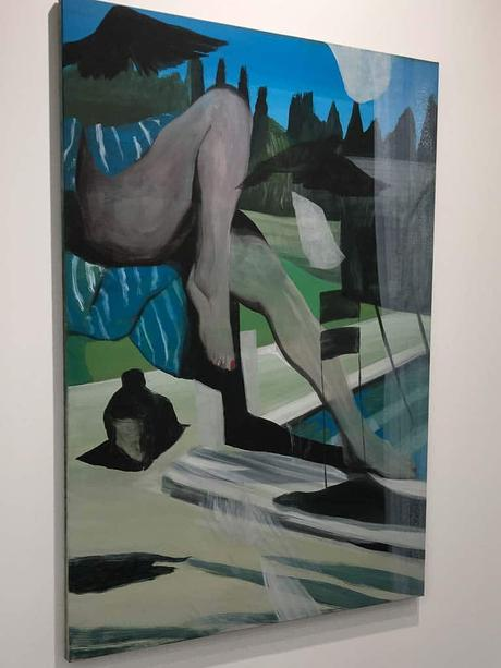 fiac, 2017, grand palais, art fair, paris, contemporary art, Marc Desgrandchamps, galerie Lelong