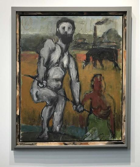 fiac, 2017, grand palais, art fair, paris, contemporary art, Markus Lupertz