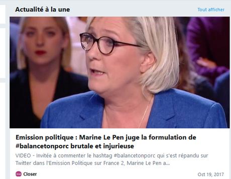 MLP #FN dans #LEmissionPolitique : un pur moment de médiocrité (avec du troll de compète Inside )