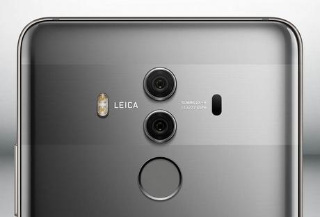 Huawei présente ses nouveaux smartphones Mate 10 et le Mate 10 Pro