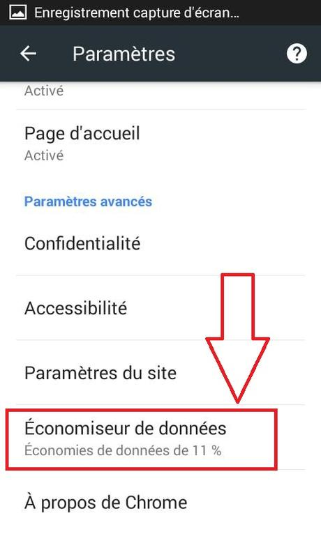 Accélérer Chrome sous Android