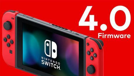 (Switch) Le nouveau firmware 4.0 est arrivé !