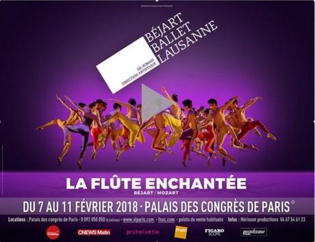 La flûte enchantée, le Béjart Ballet Lausanne bientôt à Paris