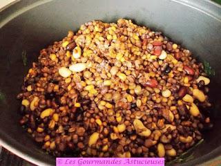 Soupe aux légumineuses (Vegan)