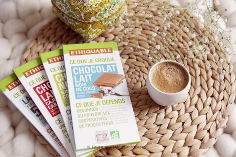 Les chocolats Ethiquable, des chocolats gourmands et équitables
