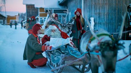 Le pays du père noël , la Laponie