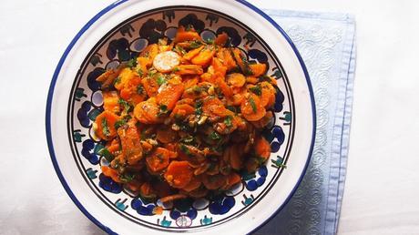 Carottes à la marocaine