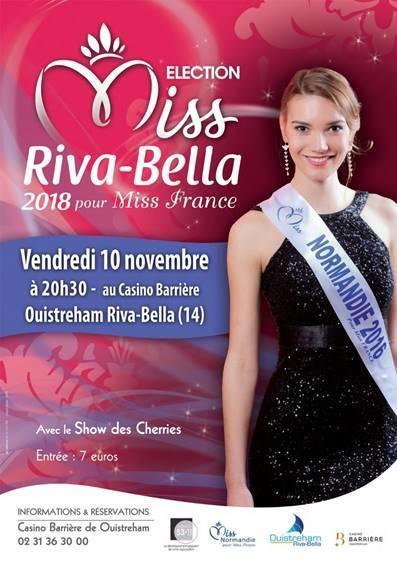 #OUISTREHAM : Élection de Miss Riva-Bella au casino #Barriere réservez vite votre soirée !