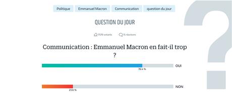 Est-ce que Le Parisien en fait trop sur Macron ?