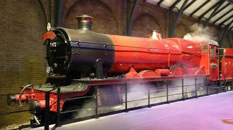 Poudlard Express direction Londres
