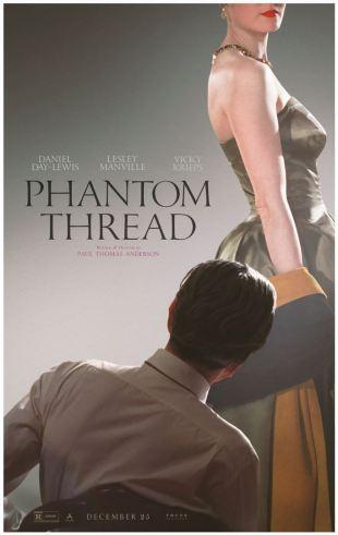 [Trailer] Phantom Thread : Paul Thomas Anderson et Daniel Day Lewis font à nouveau équipe !