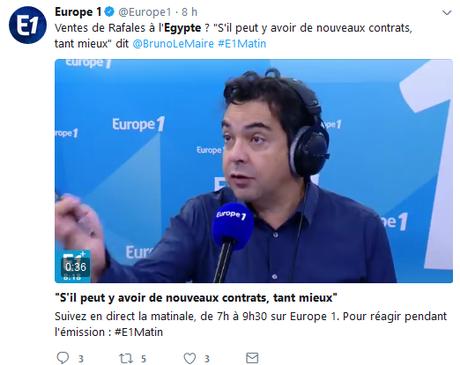 Voir Macron et vomir #Egypte