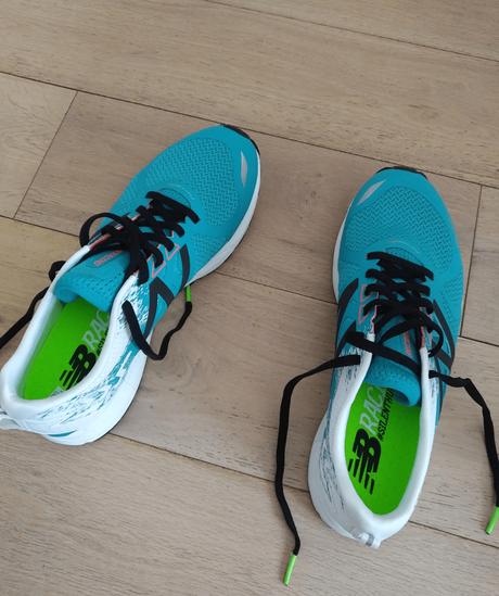 Mes premières sorties avec la chaussure running New Balance 1500V3!