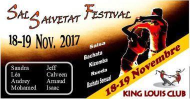 Un stage exceptionnel samedi et dimanche en salsa, bachata, khizomba, bachata sensual, salsa suelta, rueda avec le KING LOUIS CLUB
