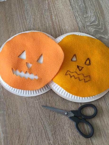 Bricolages d'Halloween avec les enfants
