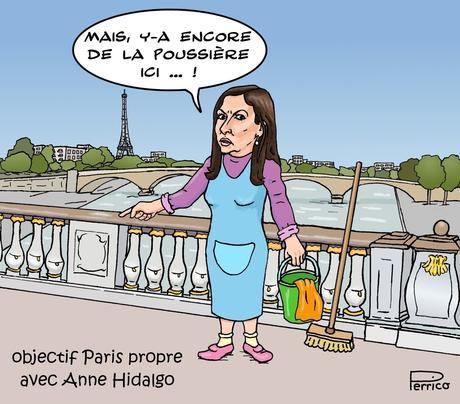 Objectif Paris propre avec Anne Hidalgo
