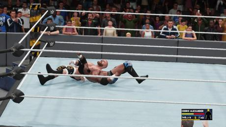 Test de WWE 2K18 sur PS4