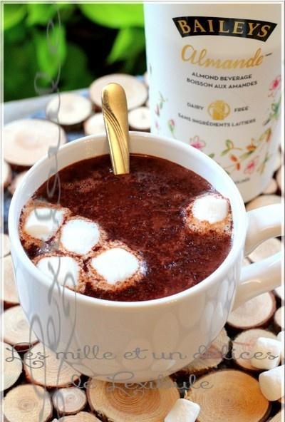 ~Chocolat chaud alcoolisé à la mijoteuse~