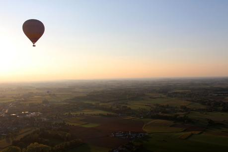 Un baptême de l'air en montgolfière