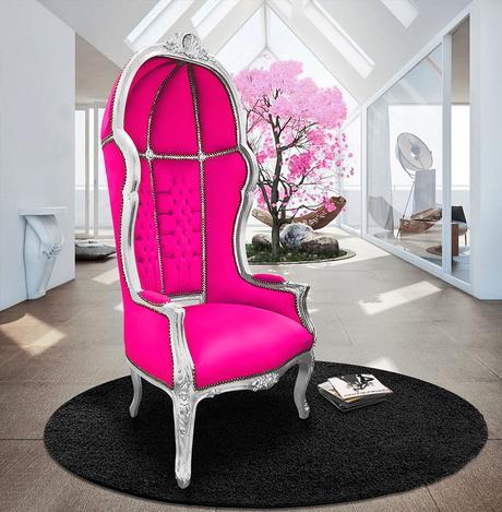 Le fauteuil carrosse, véritable œuvre d'art