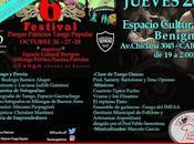 Festival Tango week-end Parque Patricios l'affiche]