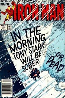 OLDIES : IRON MAN #182 TONY STARK AU FOND DU GOUFFRE