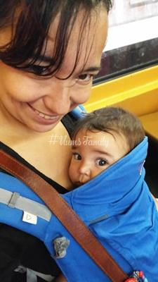 Le porte bébé P4 de Linglingdamour