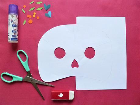 DIY HALLOWEEN Masques de la «Muerta»