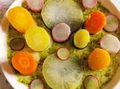 Légumes d'hiver nage saveur puissante (Vegan)
