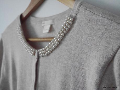 {DIY Haut} Customisation d'un gilet avec des perles