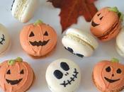 Macarons citrouilles caramel beurre salé pour Halloween