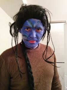 Maxime avatar maquillage pour Halloween