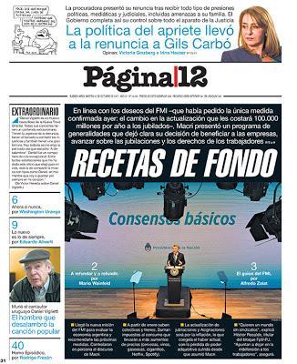 Démission de la procureure générale d'Argentine [Actu]