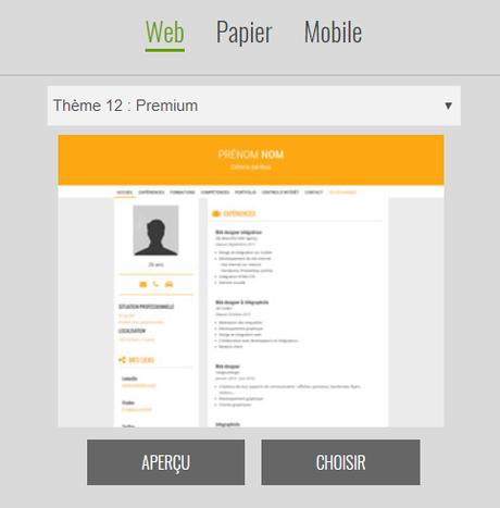 Comment créer un CV en ligne de pro, déclinable sur papier avec CV.fr