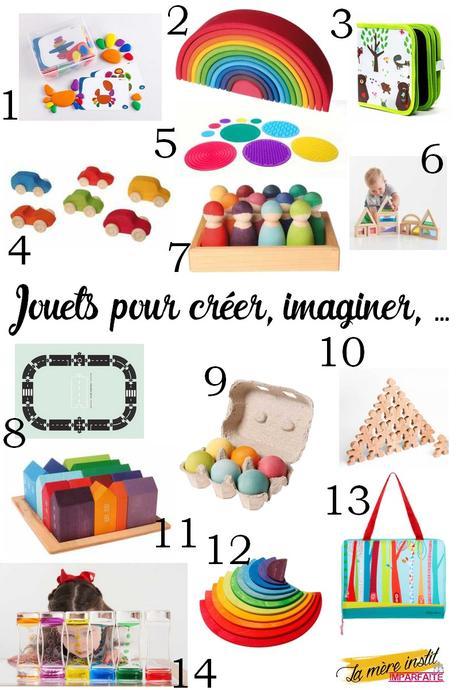 Idées cadeaux : Des jouets pour imaginer, créer, s'amuser { Sélection }