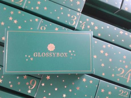 glossybox calendrier de l'avent , advent calendar by glossybox